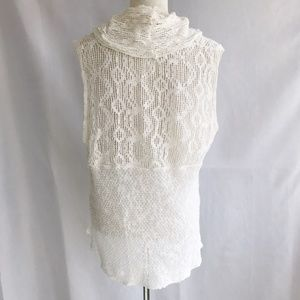 Free People Tops - Free People Just Like That Lace Cowl Neck Tank Sm